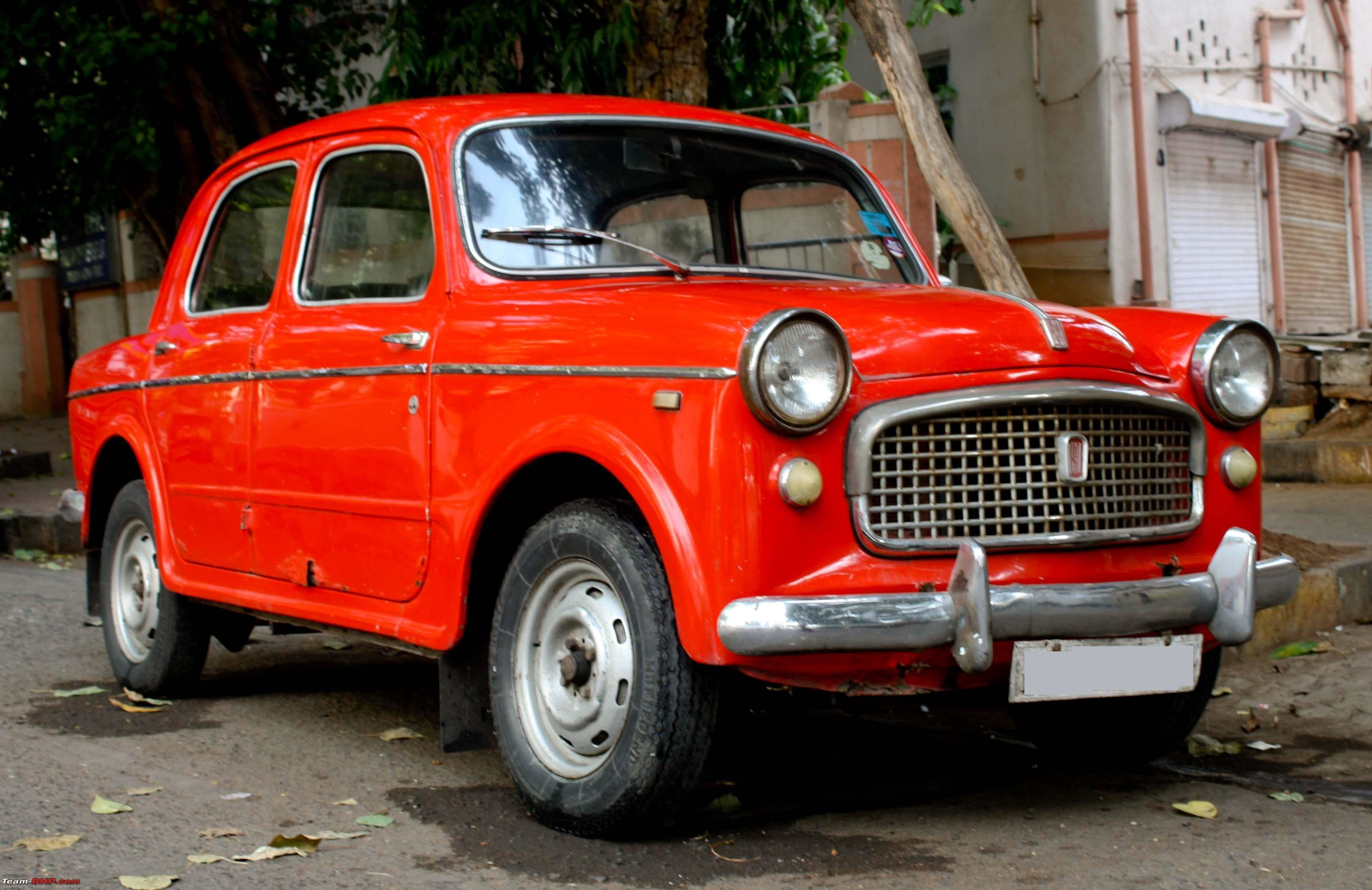 New Fiat Classic Car Club Mumbai Page 113 Team Bhp On This Month