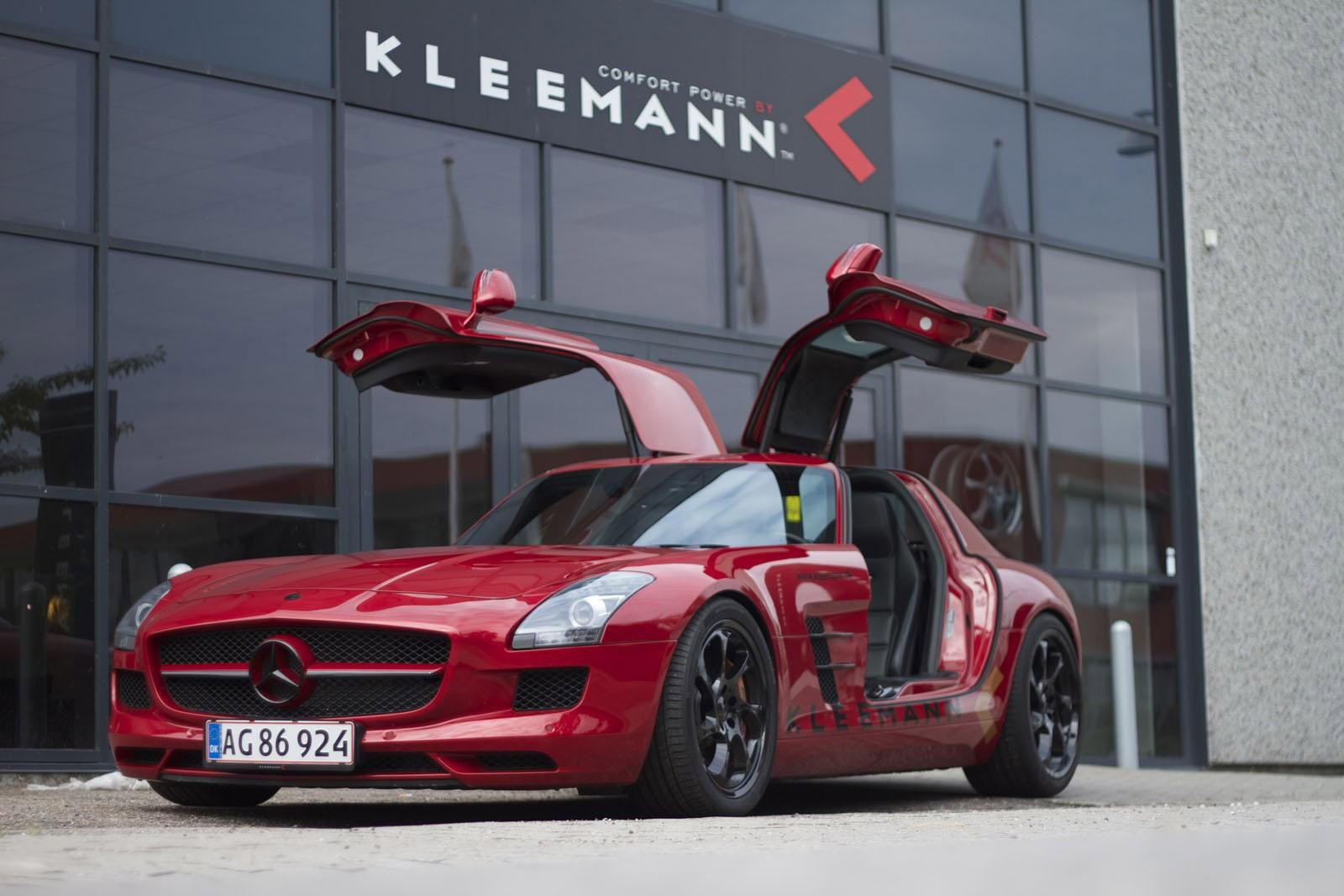 New Kleemann Mercedes Sls Amg Top Speed 356 Km H On This Month