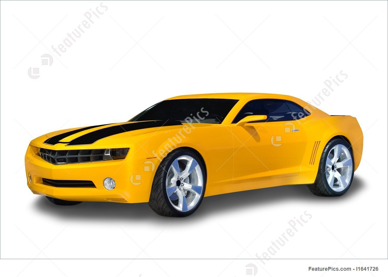 New Yellow Sports Car Photo On This Month