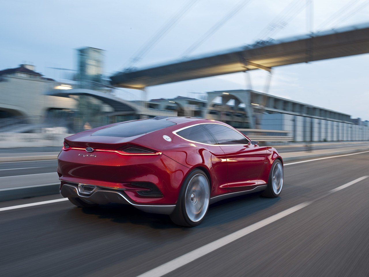 New Ford Evos Concept Car On This Month