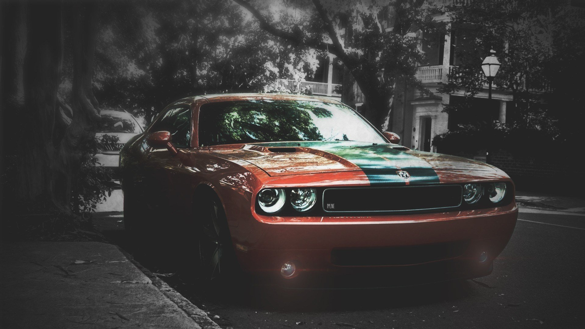 New Car Blurred Dodge Challenger Srt Wallpapers Hd Desktop On This Month