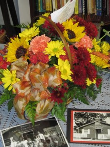 Flowers from Betty Waas