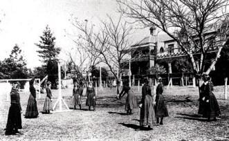 初期のネットボールの写真© Netball Australia