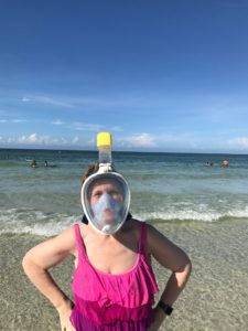 full face snorkel mask