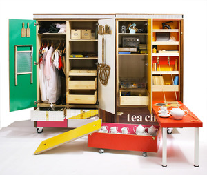 Storage cabinets made in partnership with Southwick Primary