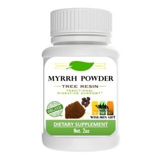 myrrh gum powder