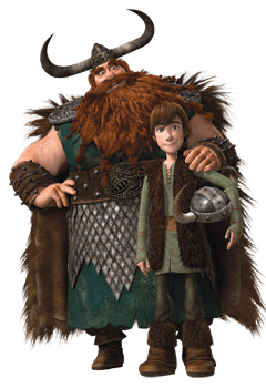 Image result for hiccup and stoic