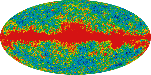 Seven Year WMAP Microwave Sky Band Maps