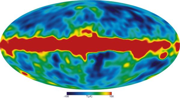 Four Year COBE Microwave Sky Image