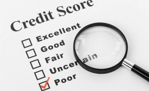 Unfavorable Credit Score