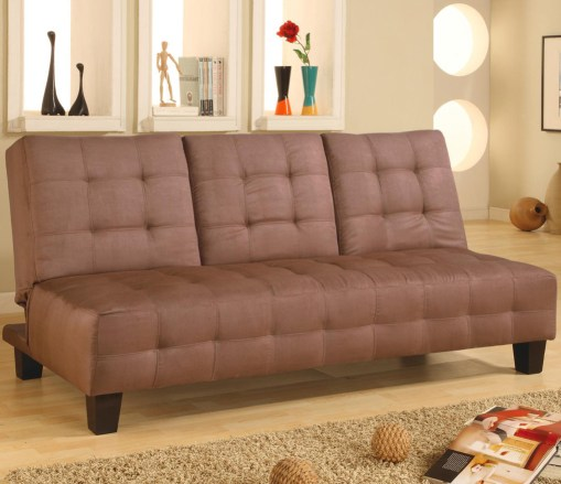 Slipper-style sofas