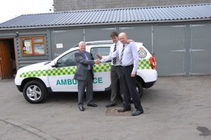 Second set of wheels for Bishops Castle and Clun Valley CFRs 24-06-13