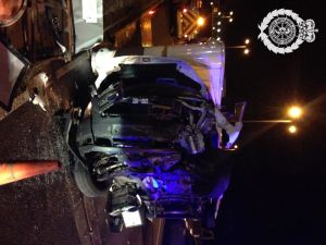 Lorry and camper van in collision 13.08.13