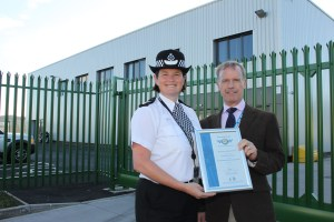 Police award for Make Ready hub 1 11-03-14