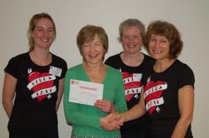 Herefordshire Heartstart awards 20,000th certificate of attendance 15-04-14