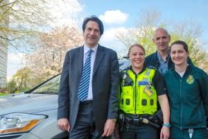 MP praises mental health scheme