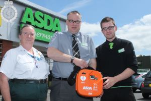 Asda is better off with a defibrillator 2