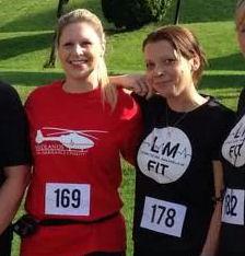 Running Crew Smashes target Nicky Masters Lisa Medhurst