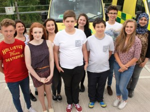 STUDENTS GO BEHIND THE NINES FOR WORK EXPERIENCE WEEK 3