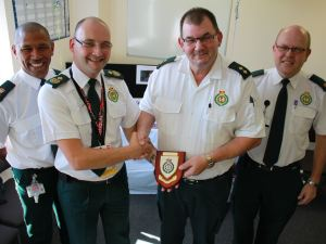Paramedic Roy Calls it a Day After 35 Years (1)