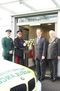 New ambulance hub opens in Lichfield 2