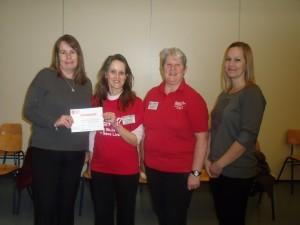 Heartstart Attendee Awarded 21,000 Certificate of Attendance