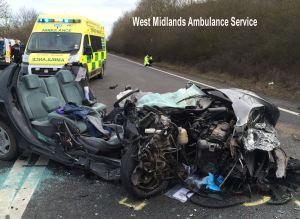A46 crash