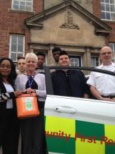 Defibrillator installed to help boarding school students in Shropshire 3