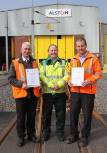 Train maintenance trio commended for saving a life 1