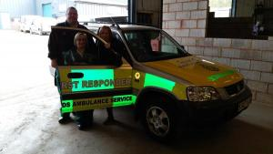 Redditch Community First Responders back on the road