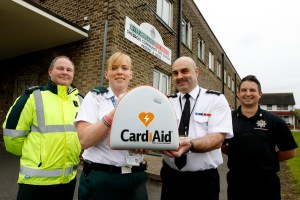 Life saving link up with West Midlands Fire Service