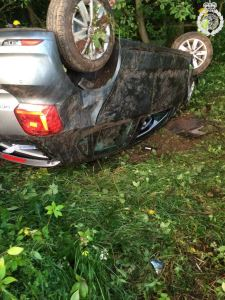 Two injured as car leaves M6 03-07-15