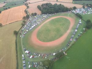 Motocross rider falls from bike in Herefordshire