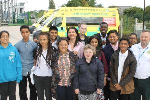Teens Visit Erdington Hub for 999 Insight