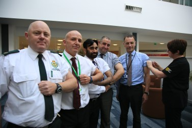West Midlands Ambulance Service joins forces with Herefordshire's health and care organisations to fight flu 16-10-15