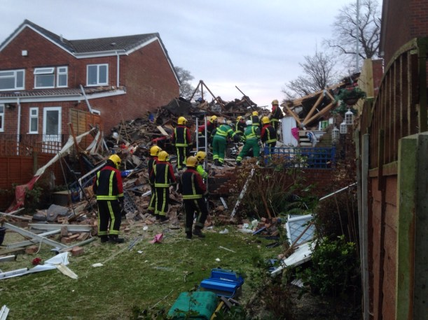 House Explosion (28-12-15) 5