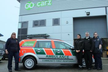 Taxi firm hailed for donation 2 Go carz