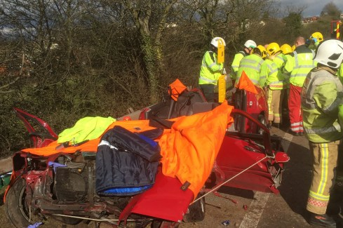 Woman Injured in RTC in Ross-on-Wye 2