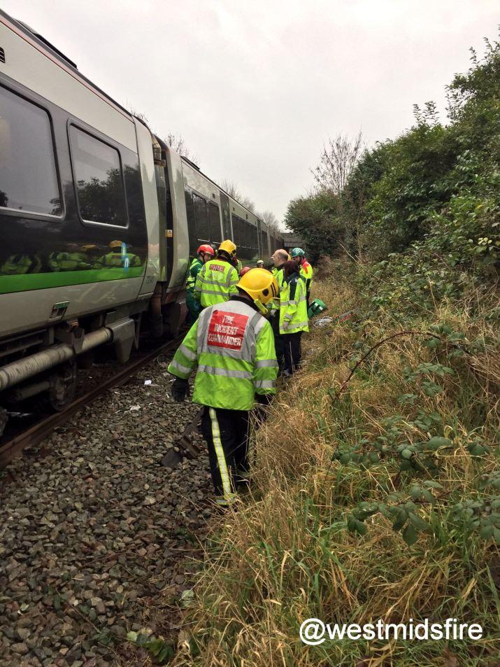 Man suffers multiple injuries on railway line - westmidsfire pic.jpg