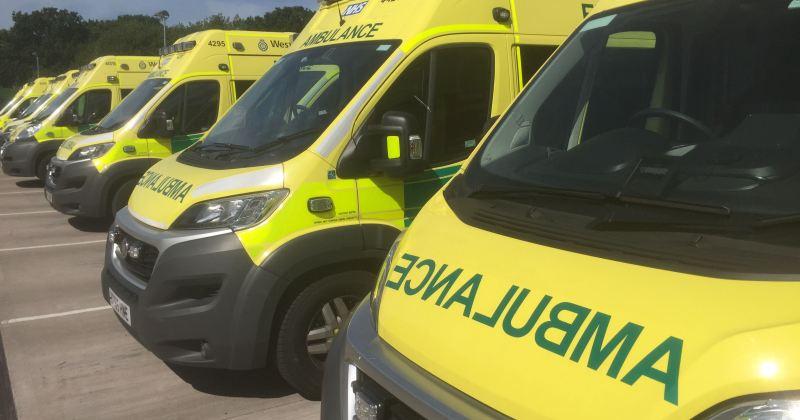 Ambulance Line Up