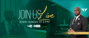 Join us live every Sunday at 2 PM on FB and Youtube Live