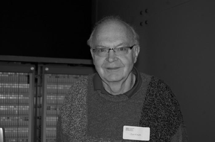 Don Knuth. The equations below are beautiful because of him.