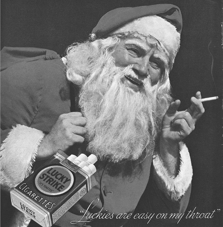 LSMFT! What's the probability Santa prefers Luckies?