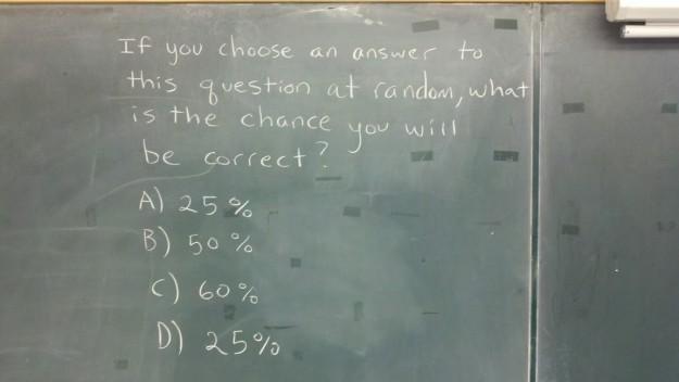 Best statistics question ever
