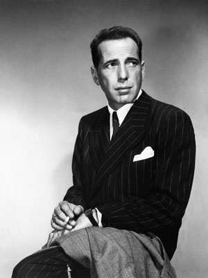 Humphrey Bogart Pocket Square