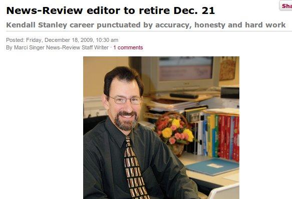 Reporter retires