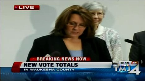 Wisconsin Kathy Nickolaus press conference