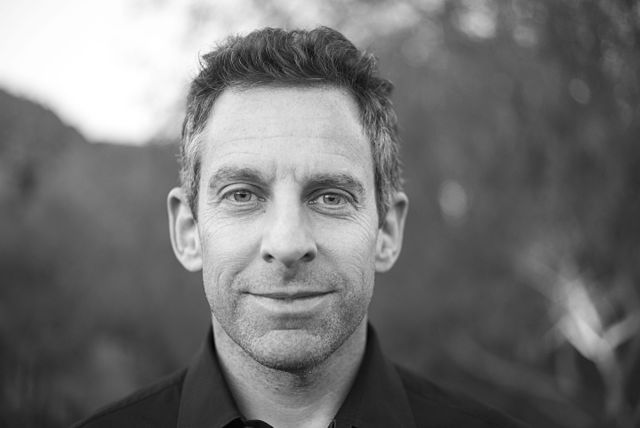 Sam Harris, meat puppet?. But if he's a puppet, who's pulling the strings?