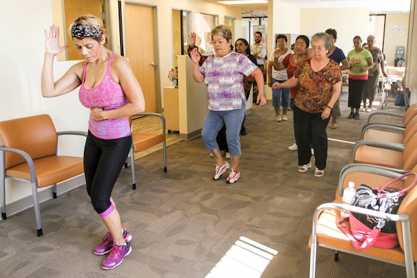 free zumba white memorial medical center
