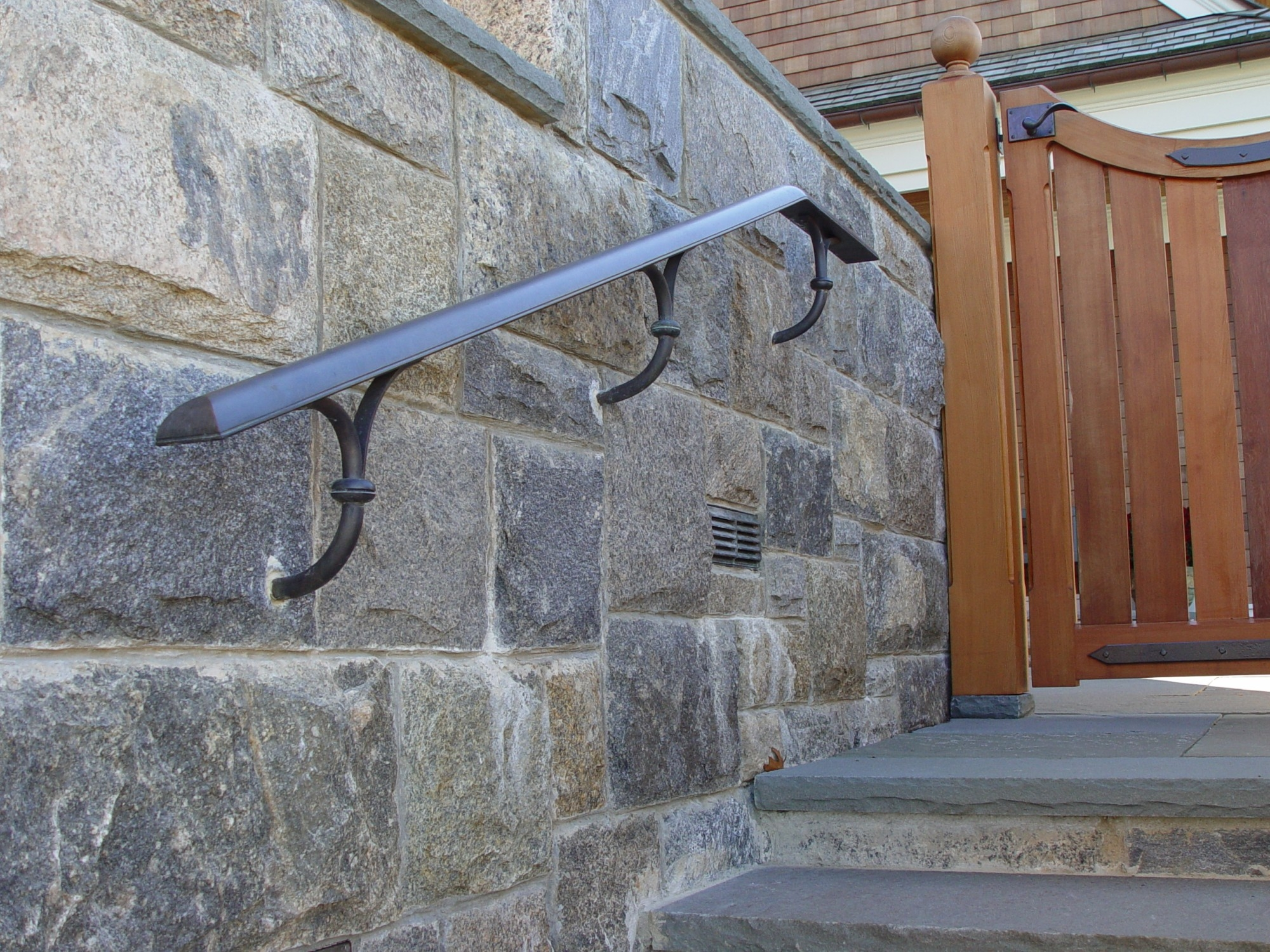 Architectural Metal Essentials Brass And Bronze Handrails | Brass Handrails For Stairs | Aluminum | Classic | Medallion | Cantilevered Spiral Stair | Wrought Iron Railing